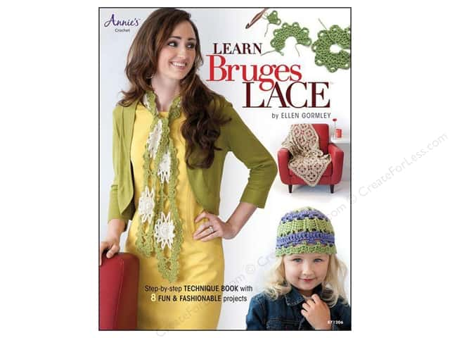 Annie's Learn Bruges Lace Book by Ellen Gormley