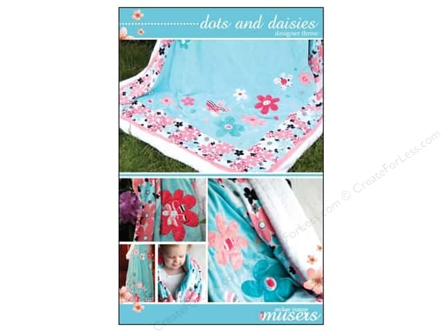 Mckay Manor Musers Dots & Daisies Throw Pattern
