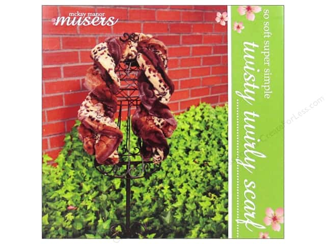 Mckay Manor Musers Twisty Twirly Scarf Pattern