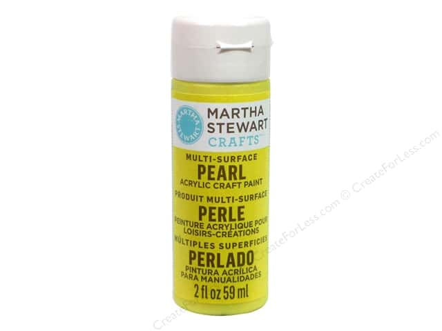 Martha Stewart Craft Paint by Plaid Pearl Duckling 2 oz.