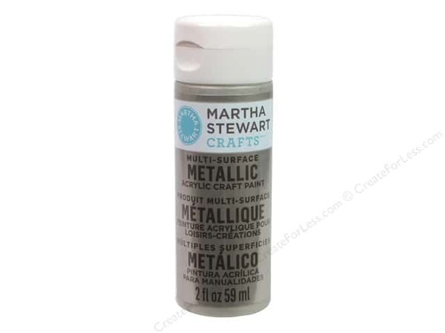 Martha Stewart Craft Paint by Plaid Metallic Champagne 2 oz.