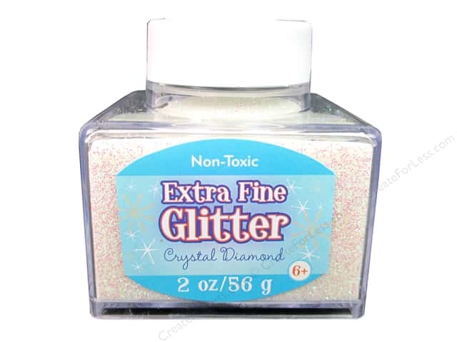 Sulyn Extra Fine Glitter 2 oz. Crystal Diamond