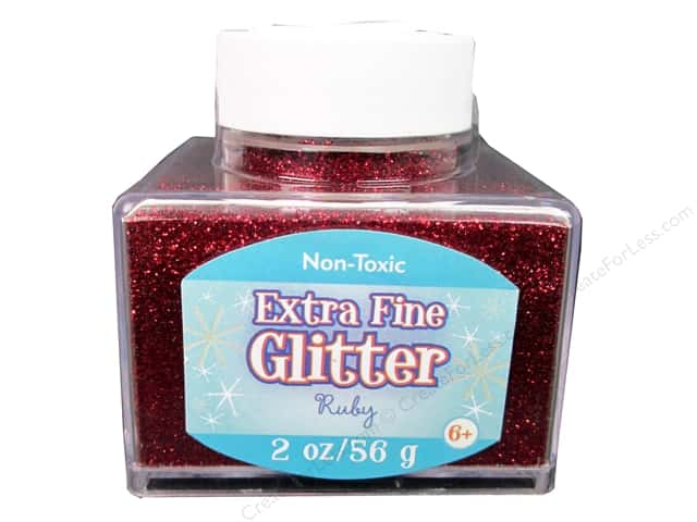 Sulyn Extra Fine Glitter 2 oz. Ruby