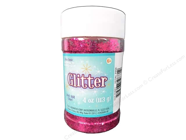 Sulyn Glitter 4 oz. Petal Pink Metallic