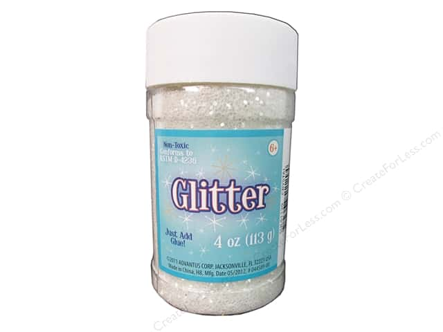 Sulyn Glitter 4 oz. Crystal