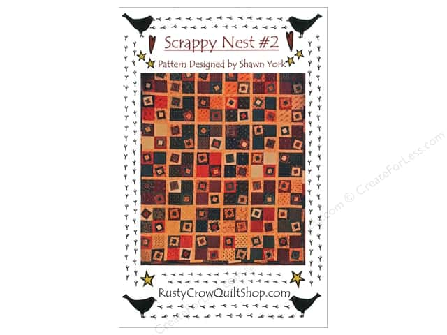 Rusty Crow Quilt Shop Scrappy Nest #2 Pattern
