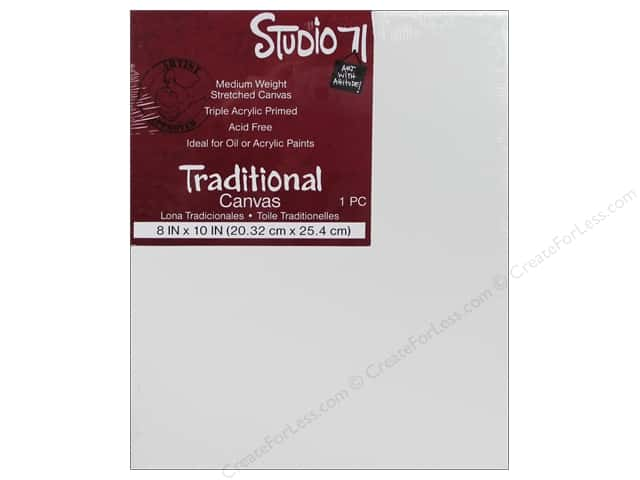 Darice Studio 71 Traditional Canvas 8 x 10 in.