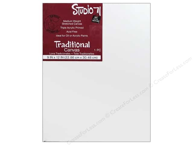 Darice Studio 71 Traditional Canvas 9 x 12 in.