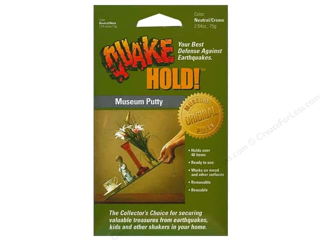 Quake Hold Ready America Museum Putty 2.64 oz Neutral/Creme
