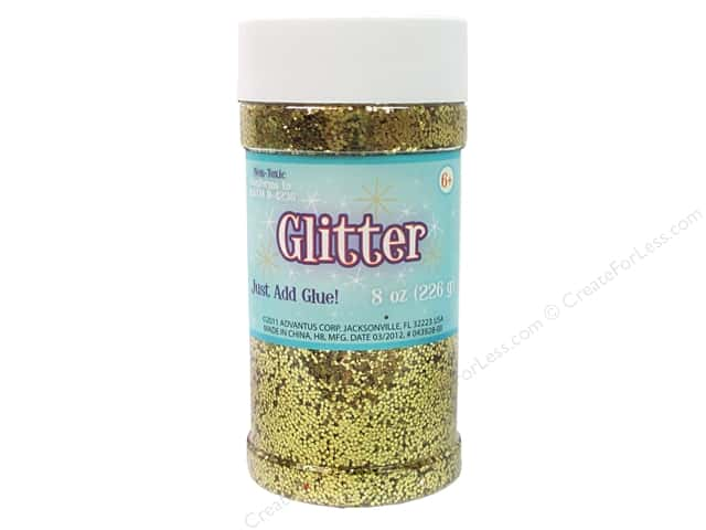 Sulyn Glitter 8 oz. Gold