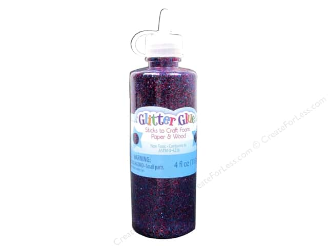 Sulyn Glitter Glue 4 oz. Purple