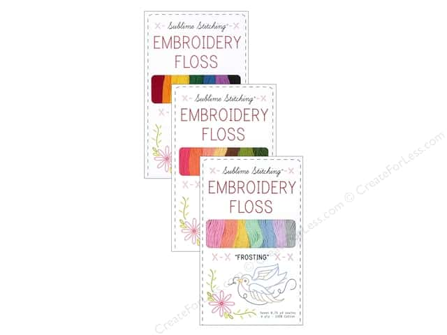 Sublime Stitching Floss Pack Six