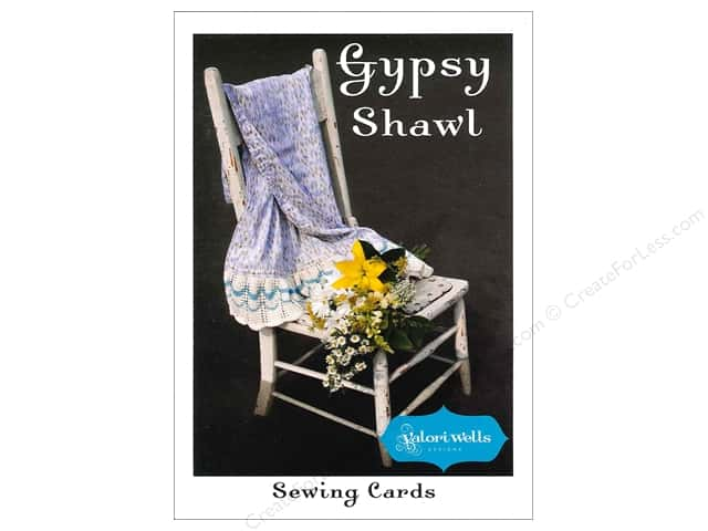 Stitchin' Post Gypsy Shawl Sewing Card Pattern