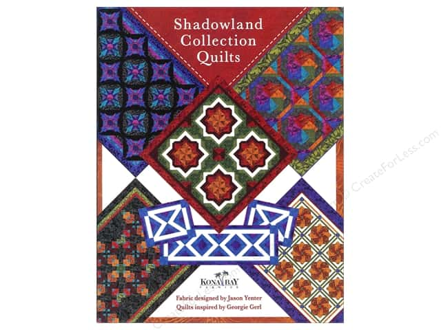 Kona Bay Fabrics Shadowland Collection Quilts Book