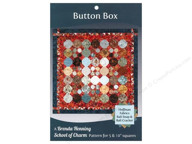 Bear Paw Productions School of Charm Button Box Pattern