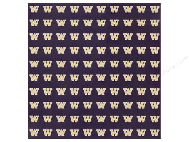"Sports Solution Paper 12""x 12"" Washington Purple (25 sheets)"