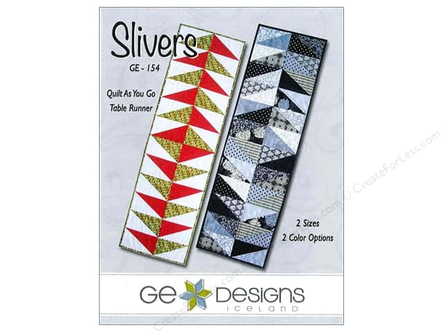 GE Designs Slivers Runner Pattern