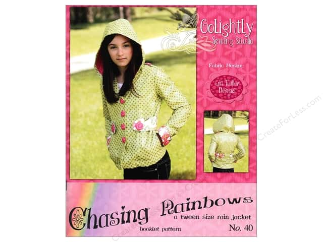 Golightly Sewing Studio Chasing Rainbows Rain Jacket Pattern