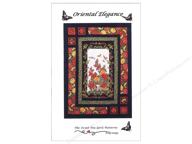 Sweet Tea Girls Oriental Elegance Pattern