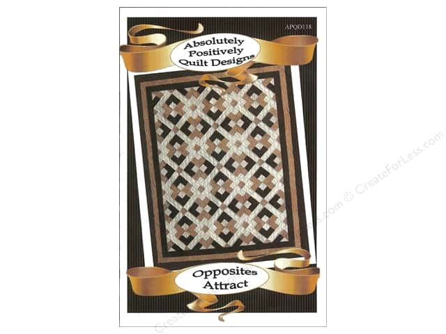 Absolutely Positively Quilt Designs Opposites Attract Pattern