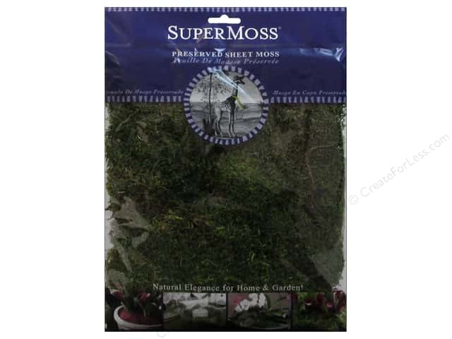 SuperMoss Premium Preserved Sheet Fresh Green 2oz