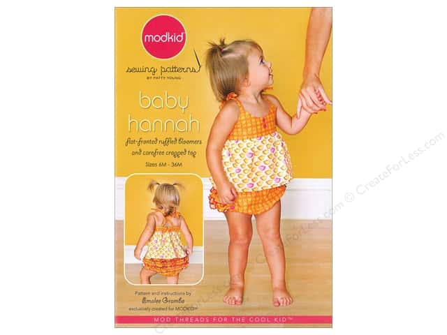ModKid Baby Hannah Ruffled Bloomers & Top Pattern