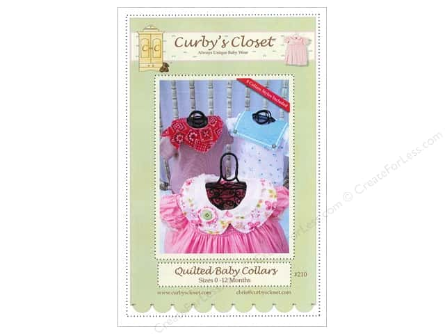 Curby's Closet Quilted Baby Collars Pattern