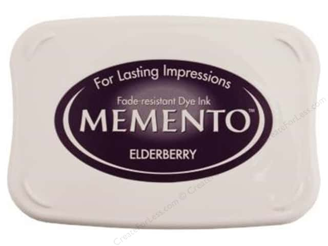 Tsukineko Memento Dye Ink Stamp Pad Elderberry