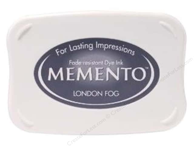 Tsukineko Memento Dye Ink Stamp Pad London Fog