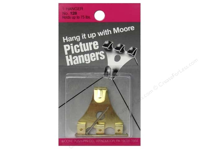 Moore Picture Hangers With Nail 75 lb. 1 pc.