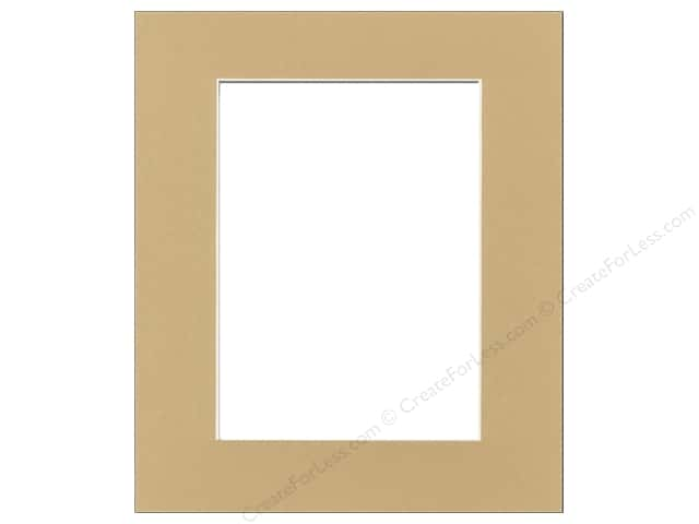 Pre-cut Photo Mat Board by Accent Design Cream Core 11 x 14 in. for 8 x 10 in. Photo Pear