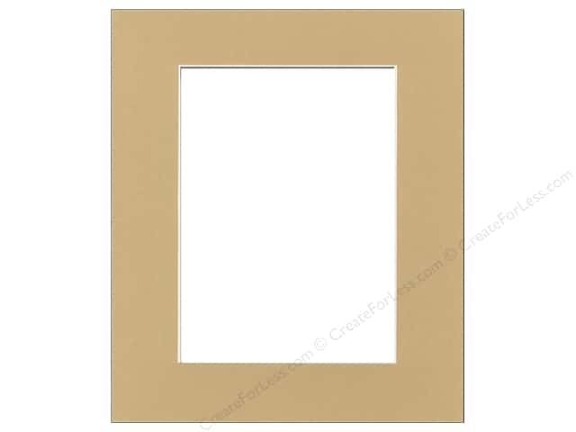 Pre-cut Photo Mat Board by Accent Design Cream Core 8 x 10 in. for 5 x 7 in. Photo Pear