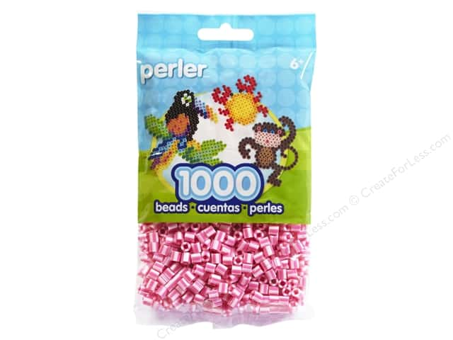 Perler Beads 1000 pc. Pink Candy Stripe