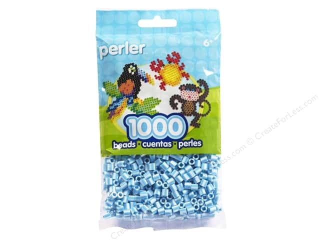 Perler Bead 1000 pc. Sky Blue Stripe