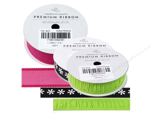 American Crafts Ribbon