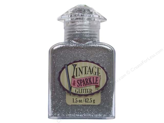 Sulyn Glitter Vintage Sparkle 1.5 oz. Metallic Silver Screen