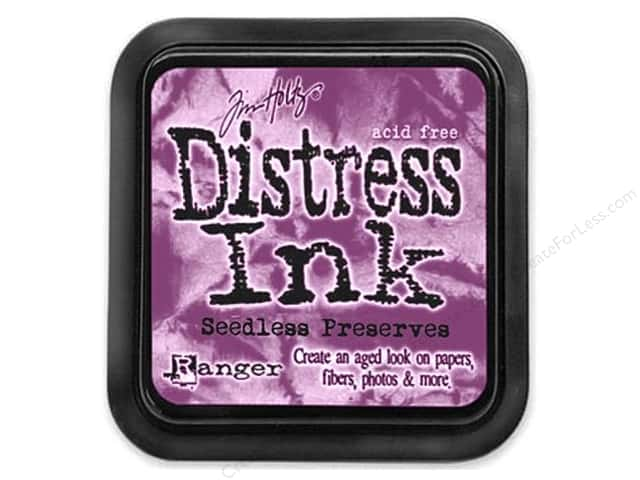 Tim Holtz Distress Ink Pad by Ranger Seedless Preserves