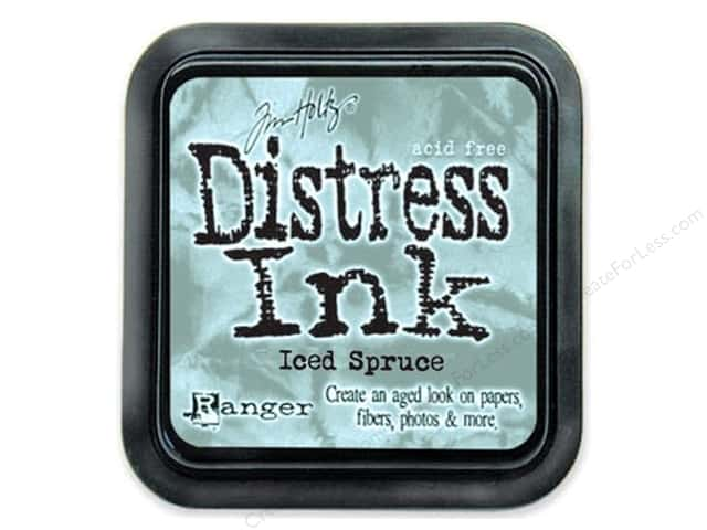 Tim Holtz Distress Ink Pad by Ranger Iced Spruce