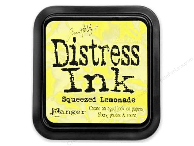 Tim Holtz Distress Ink Pad by Ranger Squeezed Lemonade