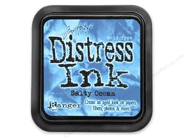 Timn Holtz Distress Ink Pad by Ranger Salty Ocean