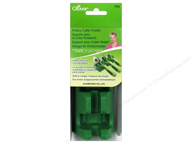 Clover Rotary Cutter Cradle with Nancy Zieman