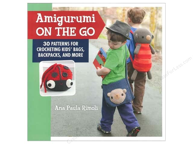That Patchwork Place Crochet Amigurumi On The Go Book by Ana Paula Rimoli