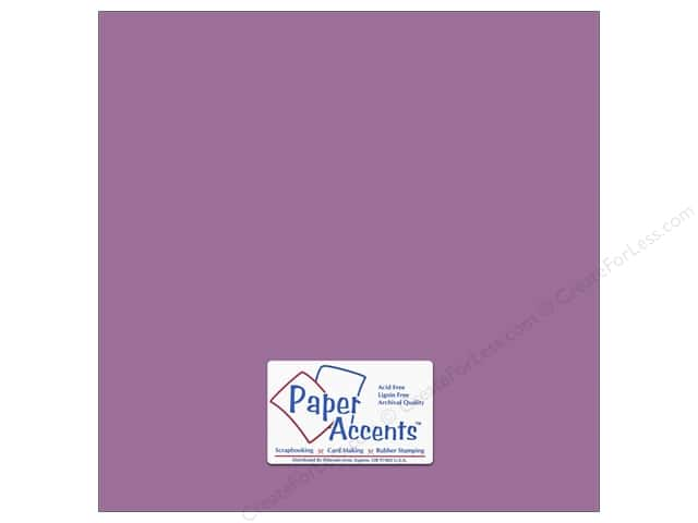 Paper Accents Cardstock 12 x 12 in. #18056 Smooth Purple Pizzazz (25 sheets)