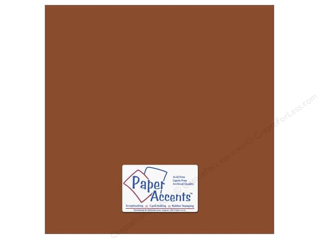 Paper Accents Cardstock 12 x 12 in. #18068 Smooth Mocha Divine (25 sheets)