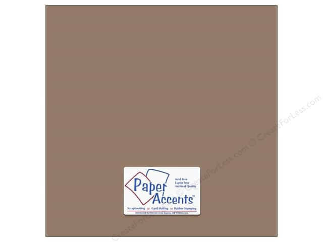 Paper Accents Cardstock 12 x 12 in. #18075 Smooth Dusk (25 sheets)