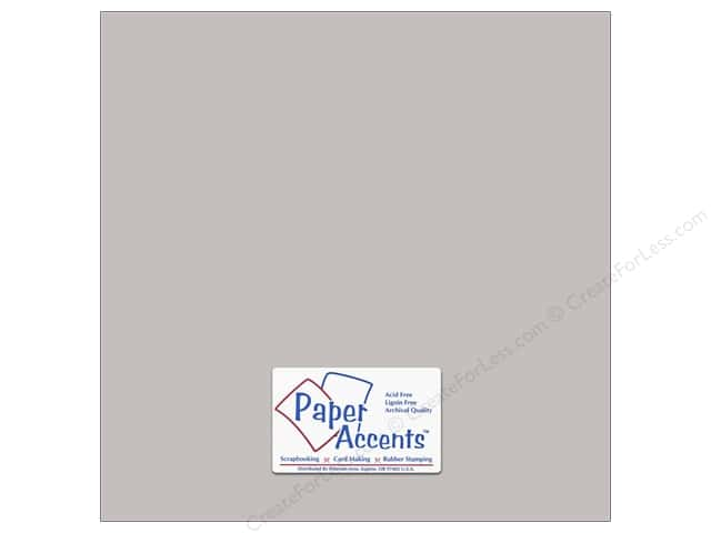 Paper Accents Cardstock 12 x 12 in. #18078 Smooth Hurricane (25 sheets)