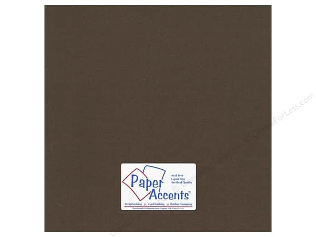 Cardstock 12 x 12 in. #854C Pearlized Bronze by Paper Accents (25 sheets)