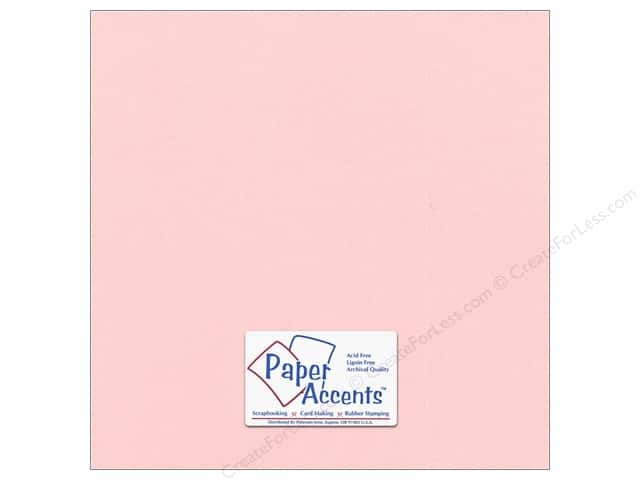 Cardstock 12 x 12 in. #870C Pearlized Primrose by Paper Accents (25 sheets)