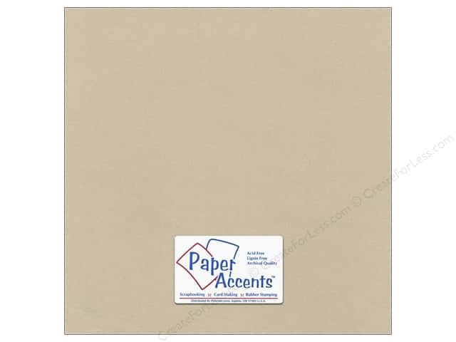 Pearlized Paper 12 x 12 in. #8838 Taupe by Paper Accents (25 sheets)
