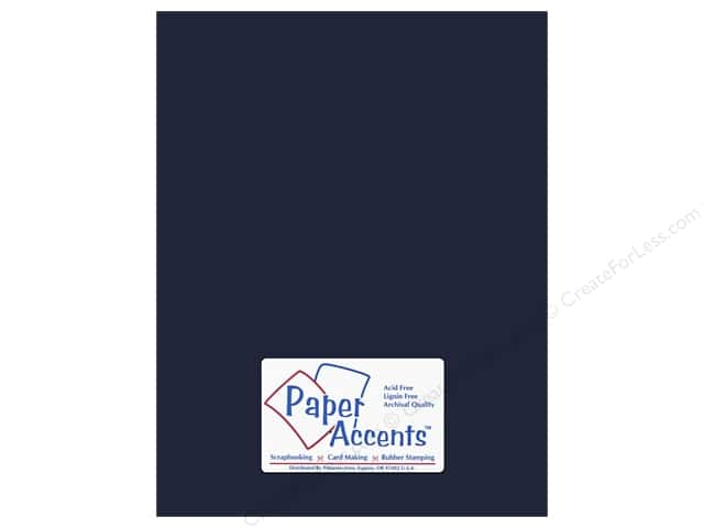 Cardstock 8 1/2 x 11 in. #66 Smooth Goodnight by Paper Accents (25 sheets)